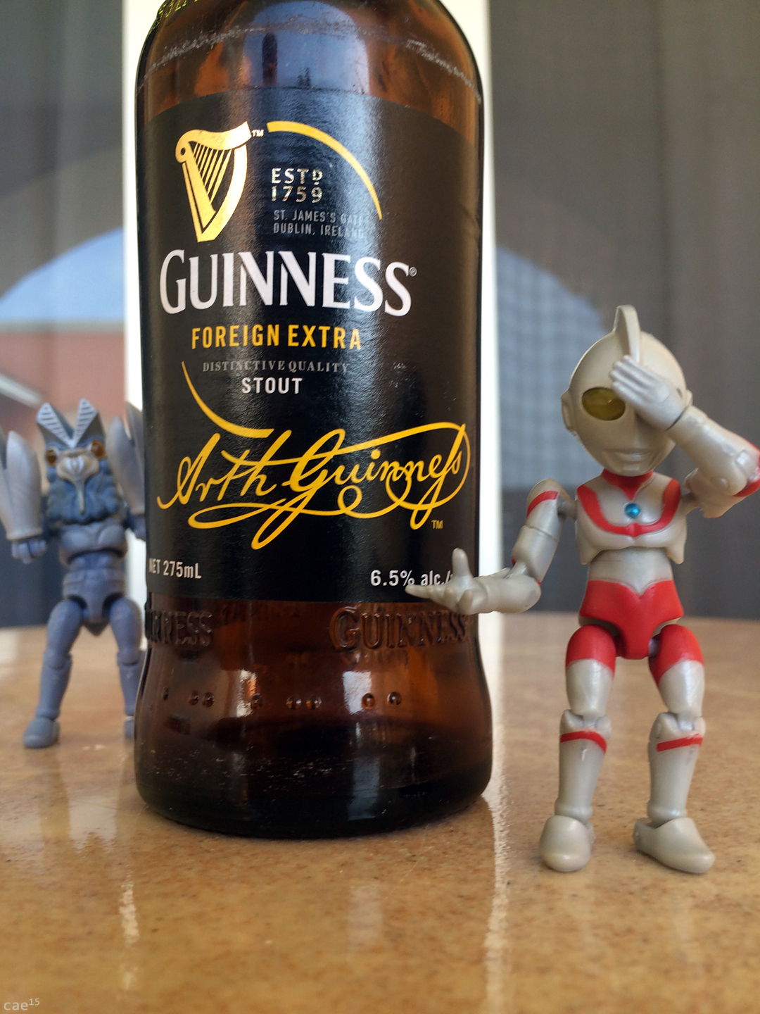 Dragon Stout? - Ultraman Jamaica