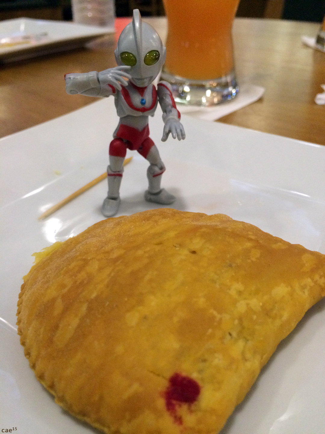 The last Jamaican patty - Ultraman Jamaica