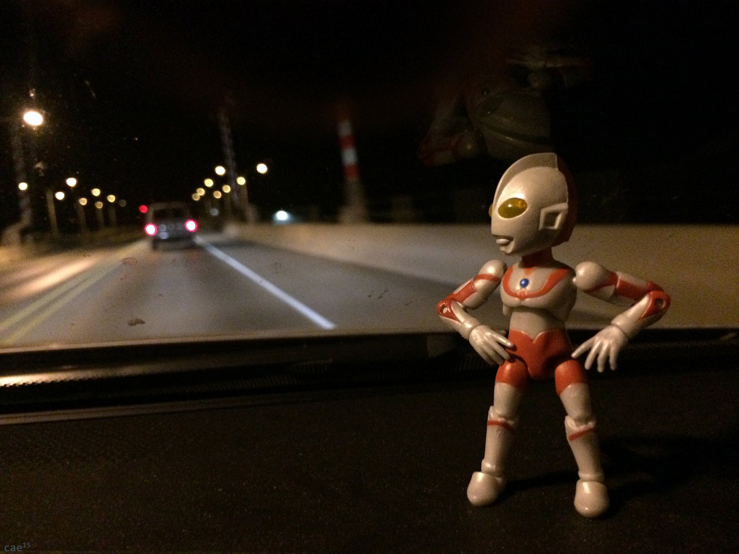 he drive is interminable - Ultraman Jamaica