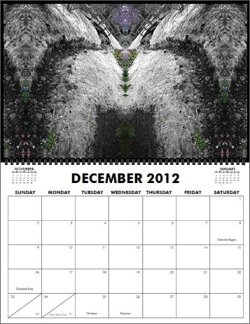 The Coreyshead 2013 Calendar of Distortions - December