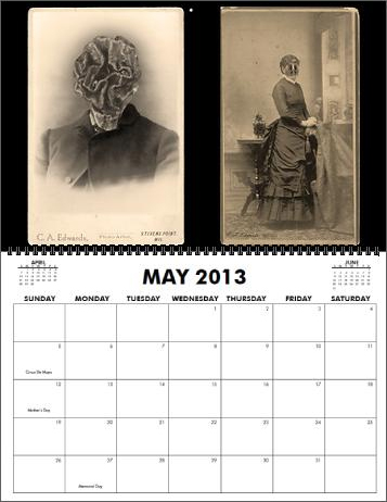 The Coreyshead 2013 Calendar of Distortions - May