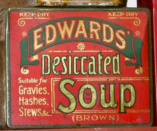 Edwards' Desiccated Tin