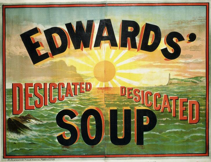 Edwards' Desiccated Soup Poster