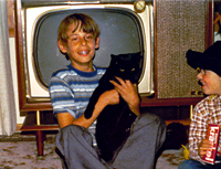 Halloween circa 1974, I'd say - great little TV, eh?