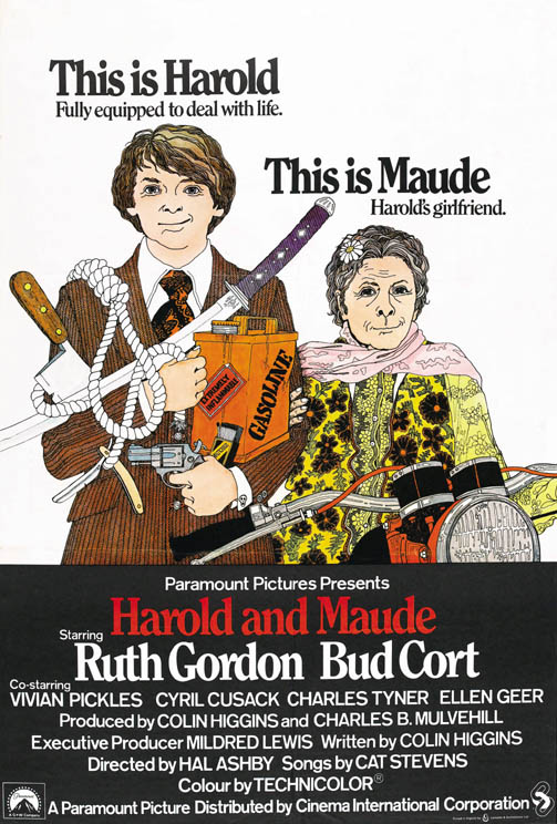 harold and maude a lesson of life and love In a song-and-dance treatment of the 1971 cult movie about a may-december love  teaches that lesson whenever she  life-force in the film harold and maude.